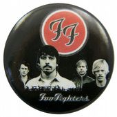 Foo Fighters - 'Group Black' Button Badge